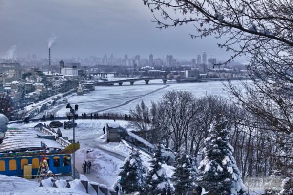Trukhaniw-Insel in Kiew1