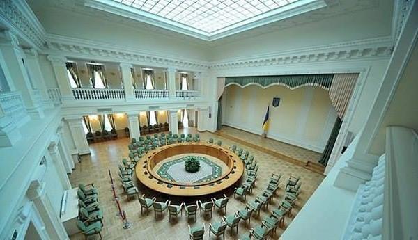 Das Haus der Toten in Kiew (jetzt Ministerkabinett-Verein)