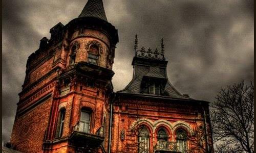 Das Haus auf Jaroslavov Val, Kiew.