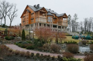 Die Villa von Janukowitsch in Kiew.